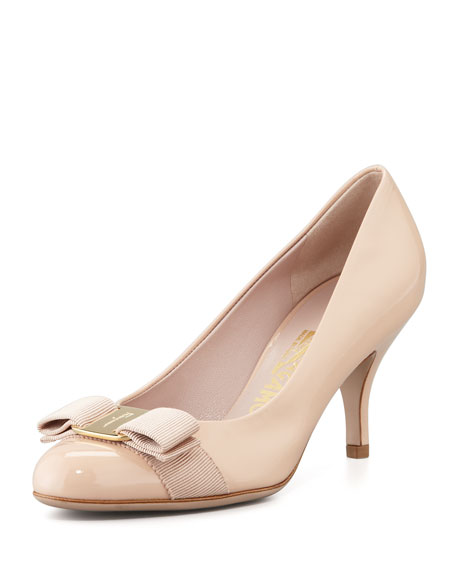 Salvatore Ferragamo Patent Bow Pumps for sale 2014 shopping discounts online cheap sale visa payment newest get authentic cheap price 7XipC
