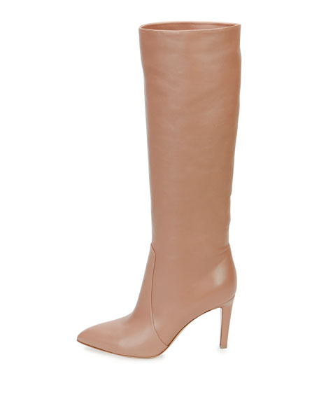 Dana Leather Knee Boot