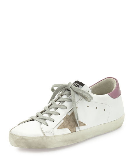 Golden Goose Colorblock Leather Low-Top