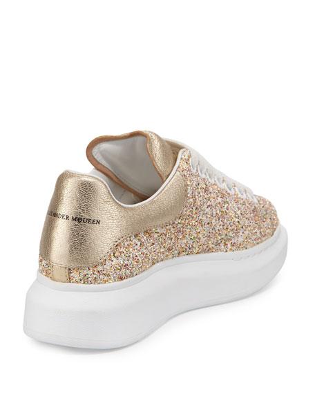 Glittered Low-Top Sneaker