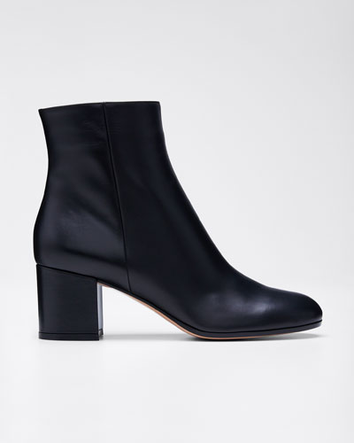 Block-Heel Ankle Booties