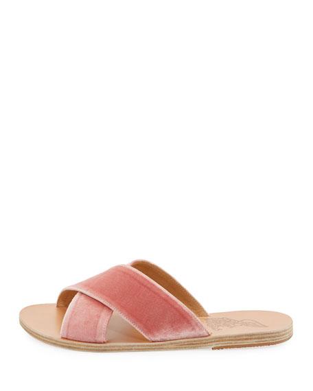 Thais Crisscross Sandal, Pink
