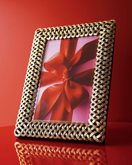 "Gold Braid 4"" x 6"" Frame"