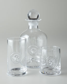 "Juliska ""Victor"" Clear Glassware"