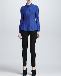 Armani Collezioni Fitted Jacket & Double-Faced Jersey Leggings