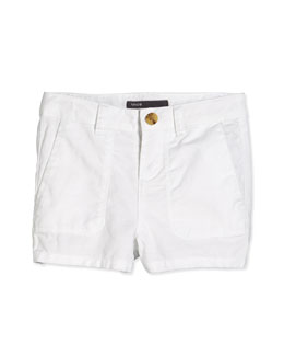 Girls' Patch Pocket Shorts