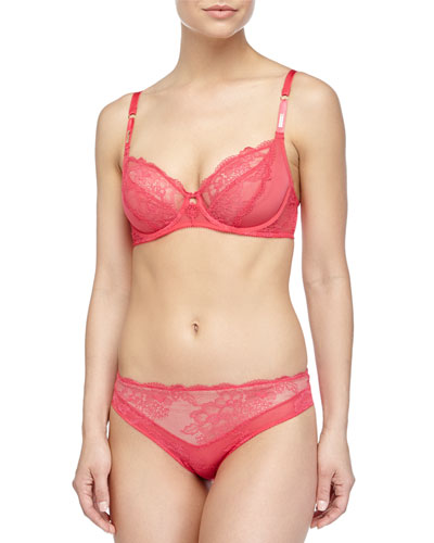 Marquise Classic Underwire Bra & Lace Bikini Briefs
