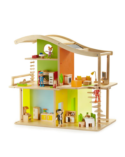 Bamboo Doll House, Master Bedroom, Kids' Room, Bathroom, Kitchen, Dining Room & Media Room