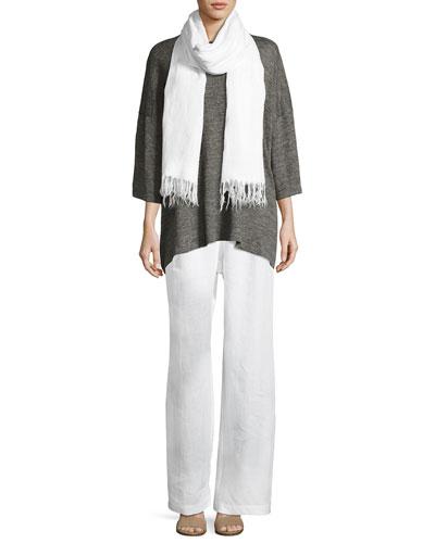 Half-Sleeve Linen T-Shirt and Matching Items