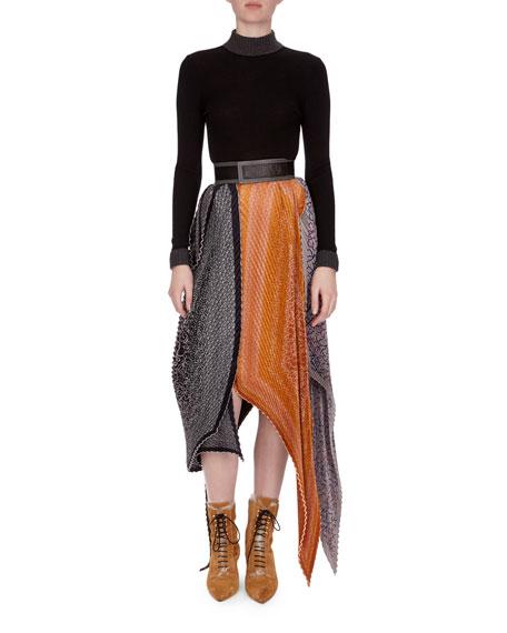 Balls & Chain Knit Sweater, Black/Gray