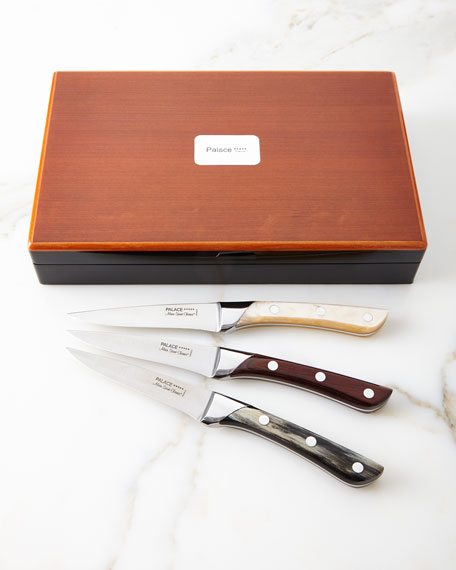 Palace Rio Wood Steak Knives, Set of 6