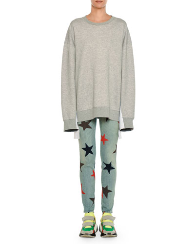 Star-Print Skinny Jeans and Matching Items