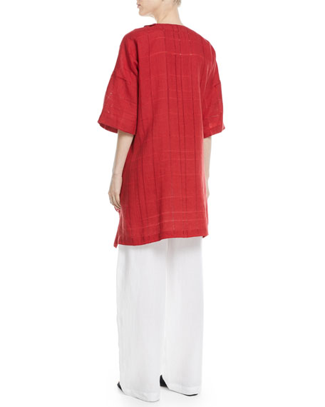 Drawstring Linen Trousers