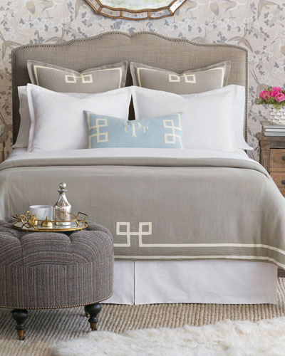 Resort Fret Queen Duvet  and Matching Items