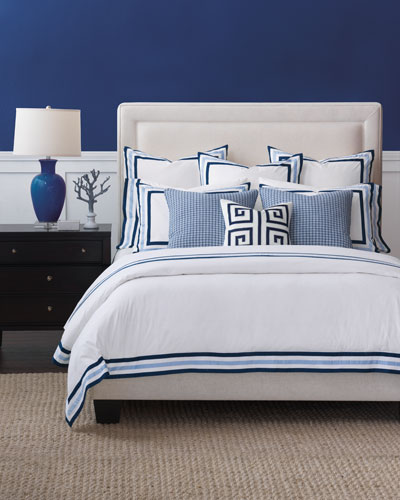 Watermill Indigo Queen Duvet  and Matching Items