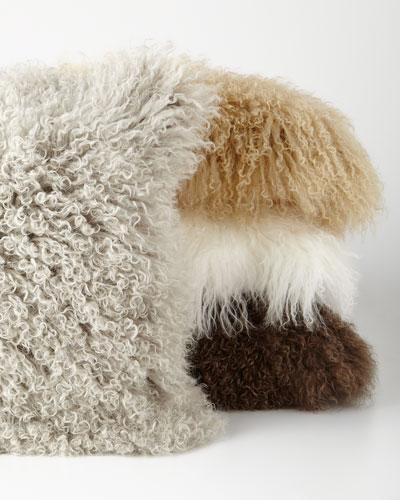 Flokati Pillow  20Sq. and Matching Items