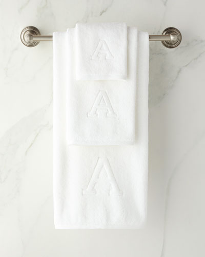 Auberge Monogrammed Fingertip Towel  and Matching Items