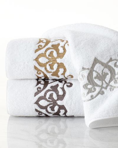 Arabesque Roma Bath Towel and Matching Items