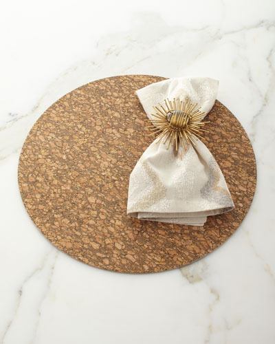 Marrakech Napkin  Natural/Ivory/Gold and Matching Items