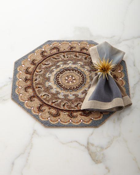 Dip-Dye Linen Napkin, Neutral