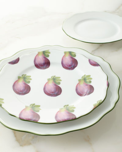 Touraine Double Filet Dinner Plate  and Matching Items