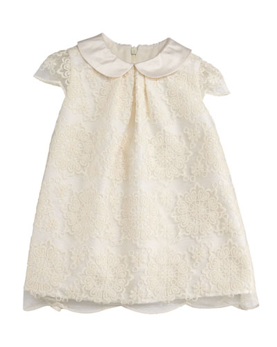 Scalloped Lace A-Line Dress, Size 12-24 Months  and Matching Items