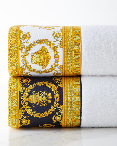 Baroque Border Small Bath Towel  and Matching Items