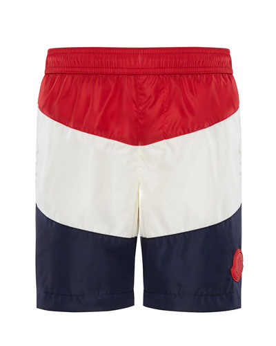 Colorblock Swim Trunks  Size 4-6  and Matching Items