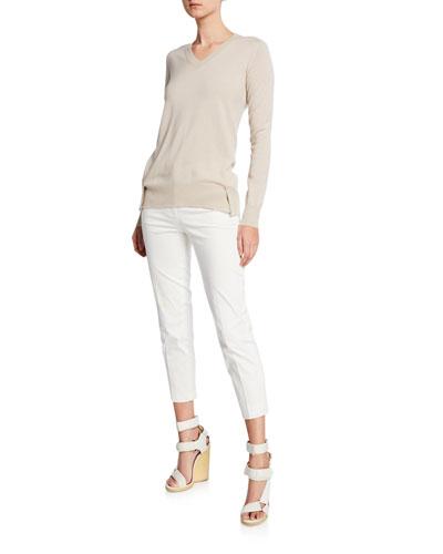 Long-Sleeve Eternal Cashmere and Matching Items