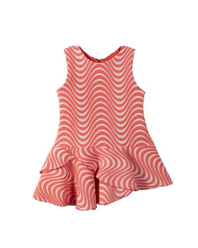Metallic Wave Jacquard Dress  Size 4-6X  and Matching Items