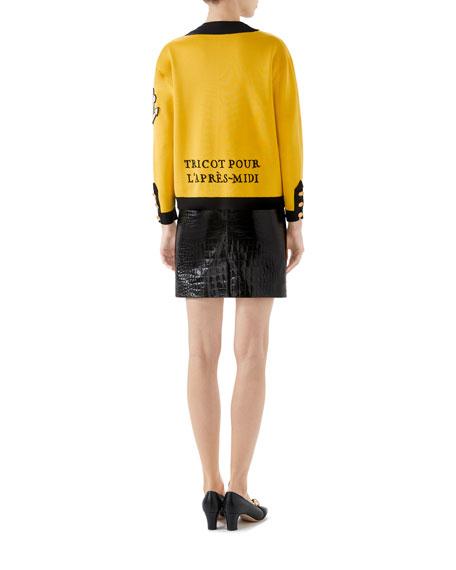 Milano Stitch Crewneck Jacket