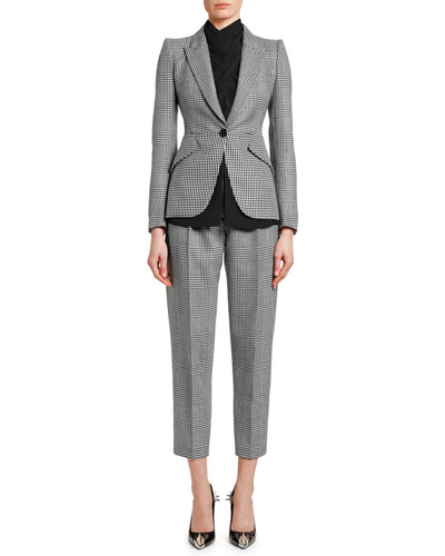 Prince of Wales & Houndstooth Blazer and Matching Items