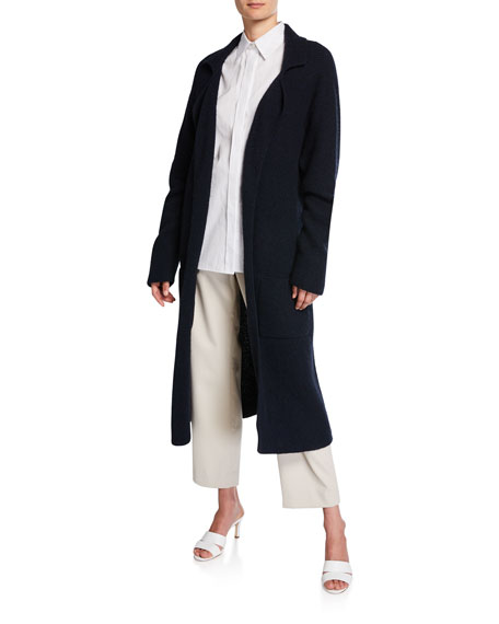 Cashmere Belted Cardigan Coat