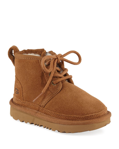 Neumel Suede Lace-Up Boots, Toddler/Baby