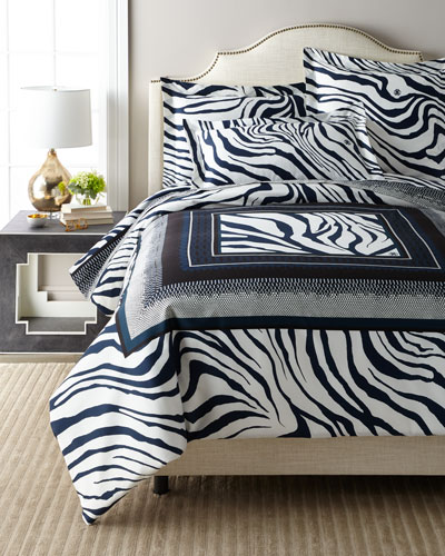 Frame Zebrage Euro Shams  Set of 2 and Matching Items