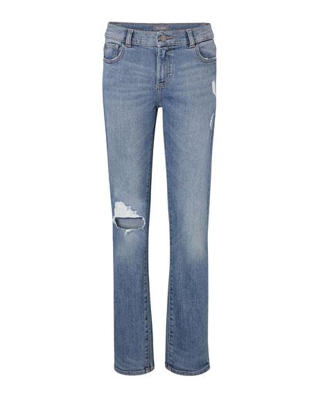 Boys' Hawke Skinny Ripped Straight-Leg Jeans, Toddler Sizes