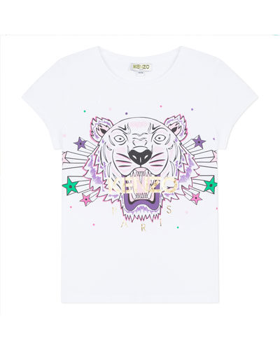 Tiger & Stars Graphic Short-Sleeve Tee  Size 2-6 and Matching Items