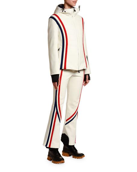 Brenva Tricolor-Trim Jacket