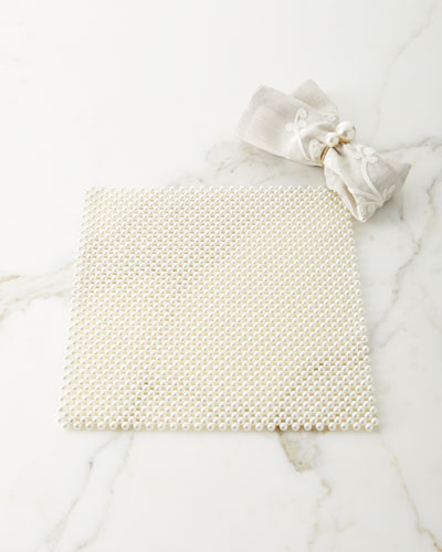 Pearl Placemat  and Matching Items