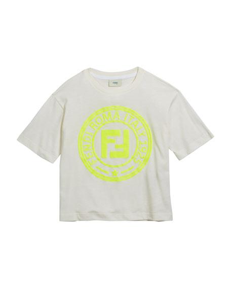 Boy's Logo T-Shirt, Size 4-8