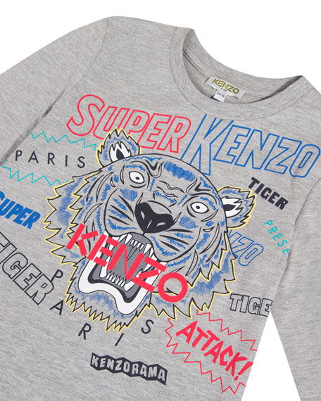 Super Heroes Tiger Tee, Size 2-6