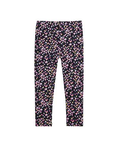 Allover Heart Print Leggings  Size 4-6  and Matching Items