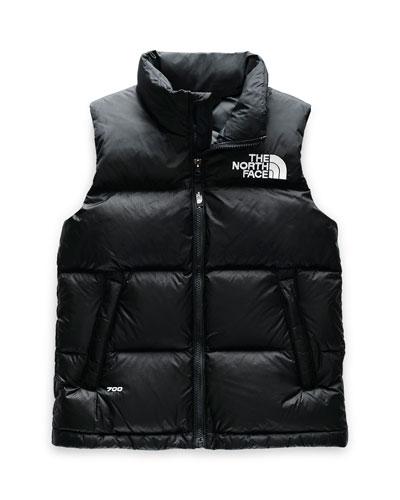 Boy's 1996 Retro Nuptse Down Vest  Size XXS-XL