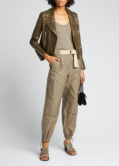 Pilot Belted Utility Pants