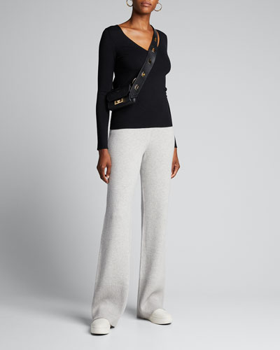 Pure Cashmere Pants