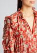 Auja Floral-Print Ruffle Maxi Dress