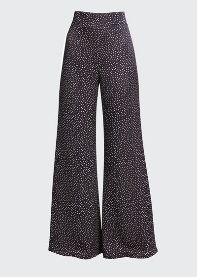 Minna Printed Wide-Leg Pants