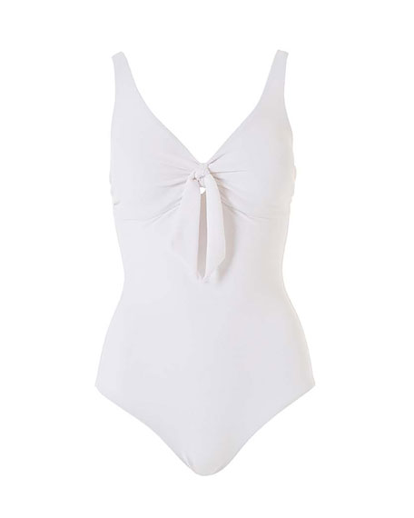 Lisbon Tie-Front One-Piece Swimsuit