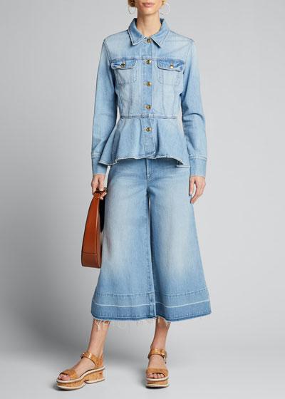 Le Culotte Trousers w/ Released Hem
