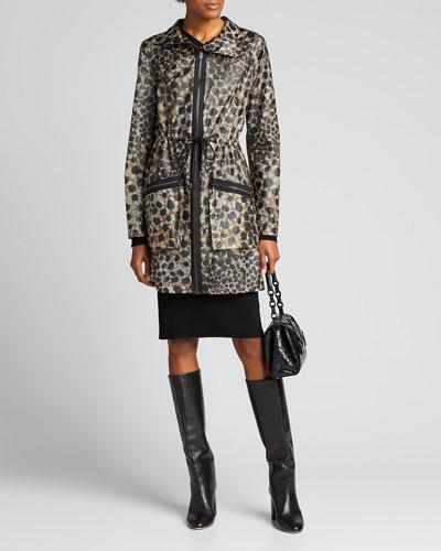Trish Leopard-Printed Coat
